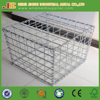 CE Mark 100x50x30cm welded mesh galvanized wire mesh gabion
