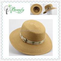 Fashion Ladies' Flat Top Summer Beach Hat