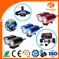 2200 LM Factory High Quality Price Headlamp Ultra Bright Rechargeable Bicycle Light