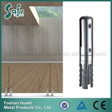 Balustrade and handrail glass balcony railing for staircase