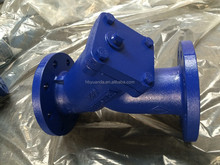 DIN Cast Iron Flange Type Y Strainer for Water