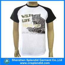 cheap rubber print commed cotton single jersey china printing men t shirts