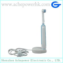 Electric toothbrush with Dupont End-rounded Bristle