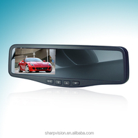 4.3 inch rearview mirror car monitor