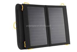 13W Folding Solar Storage Power Bag with SUNPOWER cells