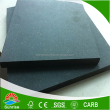 Shandong factory supply 18mm Green moisture proof MDF Board