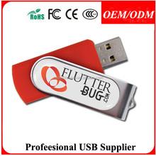 Free sample , 1/2/4/8/16/32gb wholesale swivel usb flash drive/usb sticks/usb pen drive with custom logo,free packing,DH