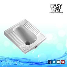 long forma de cerâmica auto limpeza de vidros upc certificada alta qualidade squat pan