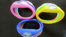 Many color are available in stock hot silicone watch
