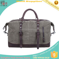 KB083102 Crazy-horse Leather Fancy Travel Duffel Bag For Men
