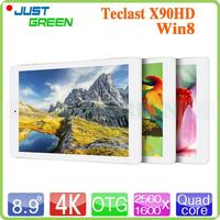 Brand New Teclast X90HD 8.9 inch 2GB 32GB Win8 Silver Z3735 free download sex video tablet pc with low price