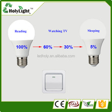 Intelligent terminal control lighting Chinese dimmable 800lumen 6w high cri smart led bulbs