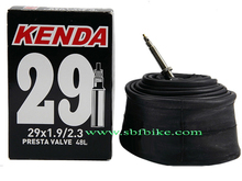 "KENDA 29""X1.9/2.3 bike tube black bike tube with inner box package bike tube"