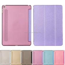Smart Slim Flip Case Cover transparent Back Hard cover For Apple iPad 5 6 mini