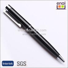 Europe Style Popular Black LuxuryLogo Customized Metal Promotional Pen(EN137)