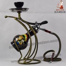 New Professional China Hookah Factory Shisha Smoking Water Pipe Hookahs Sheesha Smoke pipe Hookah Wholesaler-- ZLX-4053-55