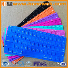 Silicone laptop Colorful Printing Protective Keyboard Cover