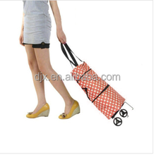 High Quality & Fashionable 1680D Polyester Travel Trolley shopping Bag