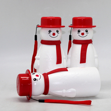 hot new products for 2015 BPA FREE gift water bottle,snow man plastic sports drinking water bottle manufacturer
