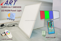 Wholesale Hot LED RGBW Panel Massage Light 600*600*10mm 36W Fast Shipping 3 Years Warranty with CE Power driver&RF Remote