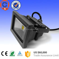 Moso driver 10W led outdoor light, solar flood light from factory