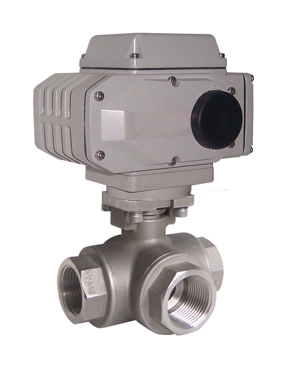 motorized 3 way ball valve motor operated ball valves