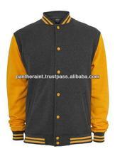Custom mens Fleece Varsity jacket