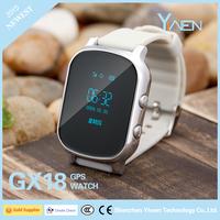 Yiwen GX18 Kid Phone GPS Watch, Smart SOS Alarm Geo Fence Historical Track GPS Watch Kids