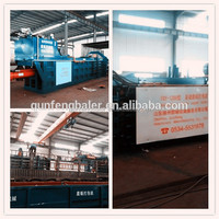 FULL-Automatic waste Baler with ISO/CE CERTIFICATION ( supplier and manufacturer )