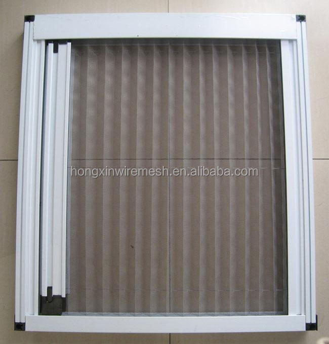 2015 new type foldable fiberglass plain window mosquito for Screen new window