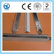 Suspended wall angle,ceiling t-bar for panels,steel t-bar various size
