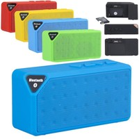 Portable Wireless Stereo Bluetooth Speaker For Smart Phones Tablet PC