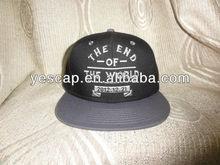 wool acrylic blend snapback caps with OEM logo