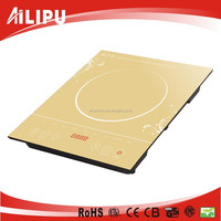 2015 ETL, CE, CB certificate, colourful crystal plate, new model touch control induction cooker plate with