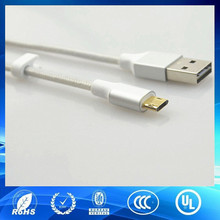 novel style reversible micro usb cable sliver usb cable