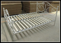 Hot sale modern design home hostel hotel dormitory army metal single bed single metal bed frame with sofa mattress