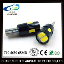 T10 5630 6SMD Canbus New Product Black Cover Car Lamp High Quality Auto Bulb LED Lighting Super Bright