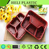 Alibaba China supplier HL-1216 disposable microwaveable plastic fast food tray on sale