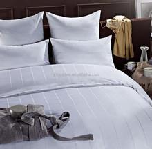 2015 Luxury hotel cotton bedding set, popular woven comforter set
