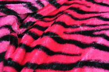 hot pink zebra plush
