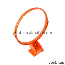 Contemporary promotional orange breakaway basketball rim
