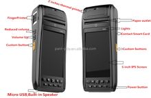 PL-A50D Ab057 Rugged barcode printer with Biometrics fingerprint reader with SIM Card slot ,Phone call features