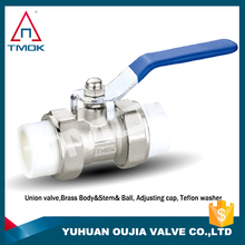 superior brass manifold ball valve control valve gas valve NPT threaded connection motorize full bore three way nickel-plated