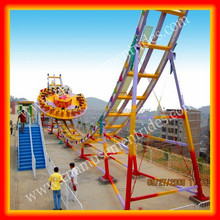 Theme park equipment extreme rides adult flying ufo ride