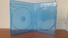 Elegant 11mm Transparent Double Blu-ray DVD Case