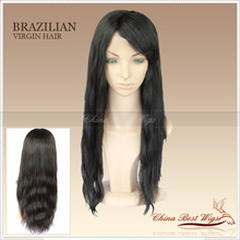 natural straight ponytail full lace wig