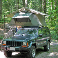 Easy to use Outdoor 4x4 offroad car roof top tent with Happy King
