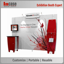 Fast light weight and set up exhibition display booth stand