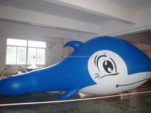 Custom Inflatable blue whale Air Balloon