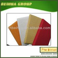 wall decoration cloth fiber glass panel